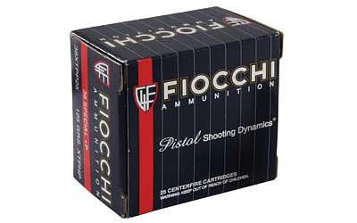 Fiocchi 38 Special 125 Grain XTP Jacketed Hollow Point