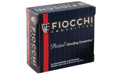 Fiocchi 40 Smith & Wesson 155 Grain XTP Jacketed Hollow Point