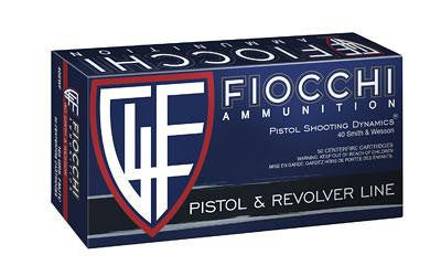 Fiocchi 40 Smith & Wesson 165 Grain Full Metal Jacket
