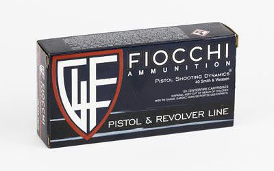 Fiocchi 40 Smith & Wesson 180 Grain Full Metal Jacket