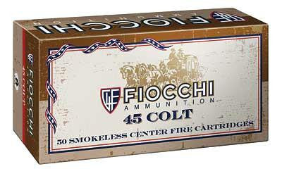 Fiocchi 45 Long Colt 250 Grain Lead Round Nose