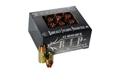 G2 Research R.I.P. 380 ACP 62 Grain Copper Hollow Point
