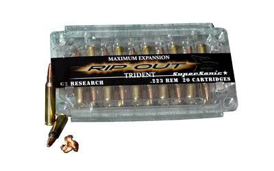 G2 Research Trident 223 Remington 65 Grain Lead Free Copper