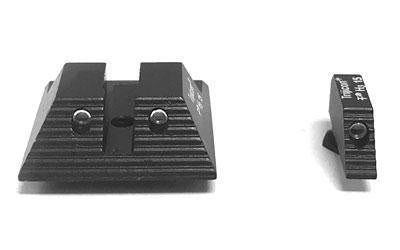 Haley Strategic Partners TH1RTE3N Sights for Glock 9mm/40S&W (Tritium Front/Rear)
