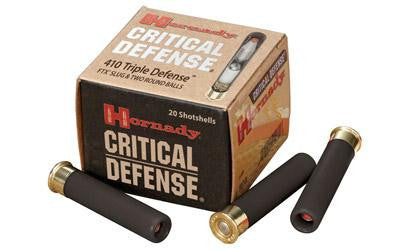 "Hornady Critical Defense 410 Gauge 2-1/2"" Slug"