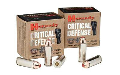 Hornady Critical Defense 45 Long Colt 185 Grain Flextip Jacketed Hollow Point