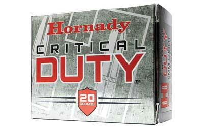 Hornady Critical Duty 357 Sig 135 Grain Jacketed Hollow Point