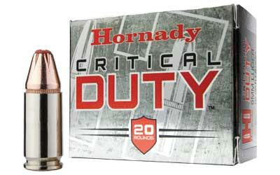Hornady Critical Duty 40 Smith & Wesson 175 Grain Jacketed Hollow Point