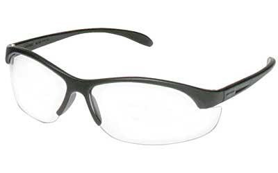 Howard Leight HL200 Youth Black Frame Clear Lens Shooting Glasses