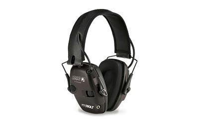 Howard Leight Impact Sport Bolt Electronic Earmuff in Black