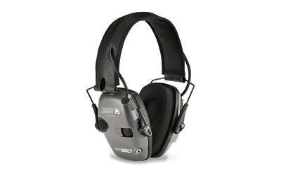 Howard Leight Impact Sport Bolt Electronic Earmuff in Grey
