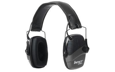 Howard Leight Impact Sport Deluxe Headband Earmuff Black Color