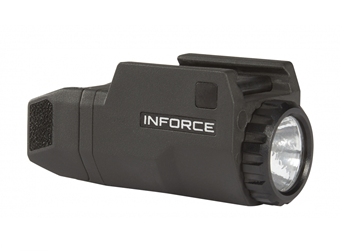 Inforce APLC Compact 200 Lumen Weapon Mounted Light in Black