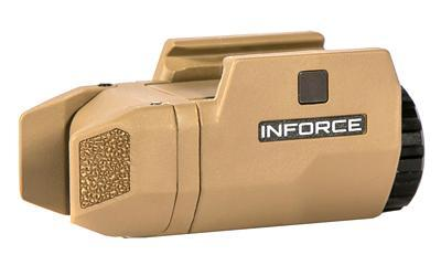 Inforce APLC Compact 200 Lumen Weapon Mounted Light in FDE