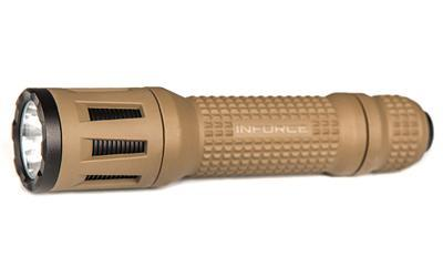 Inforce TFx White LED w/ C/M/S Handheld Flashlight in FDE