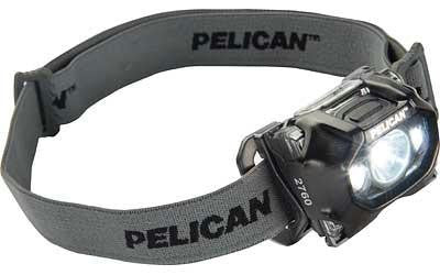 Pelican 2760c Head Light Black Led