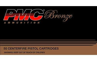 PMC Bronze 380 ACP 90 Grain Full Metal Jacket