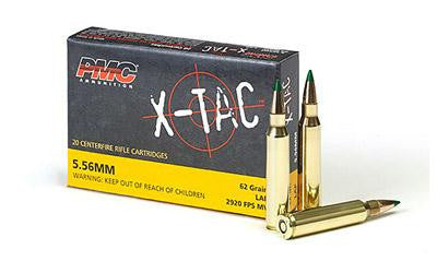 PMX X-Tac 5.56x45 NATO 62 Grain Light Armor Piercing Green Tip-Ammunition-Ardie Arms