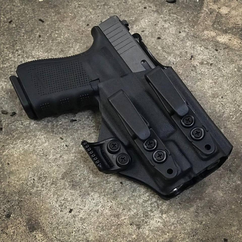 Wonderful Priority 1 Holsters Inside The Waistband Glock 19 W/ Inforce APL Weapon  Mounted Light Holster