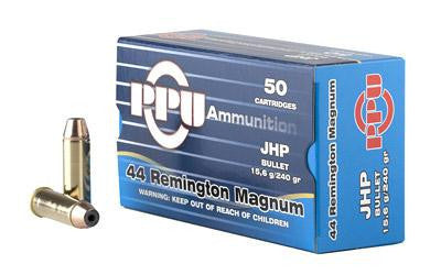 Prvi Partizan PPU 44 Magnum 240 Grain Jacketed Hollow Point