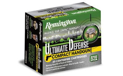 Remington Compact Home Defense 380 ACP 102 Grain Jacketed Hollow Point