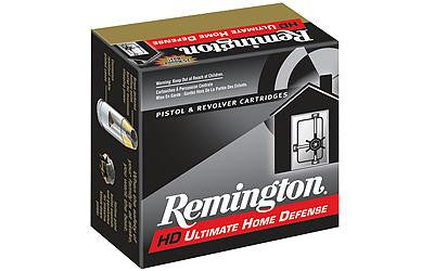 Remington Compact Ultimate Home Defense 38 Special +P 125 Grain Jacketed Hollow Point