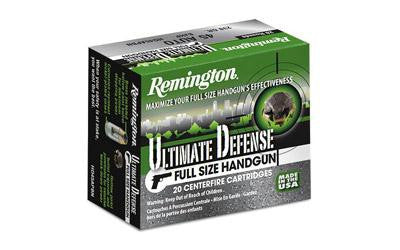 Remington Ultimate Defense 45 ACP +P 185 Grain Bonded Jacketed Hollow Point-Ammunition-Ardie Arms