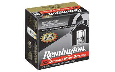 Remington Ultra Home Defense 38 Special +P 125 Grain Jacketed Hollow Point