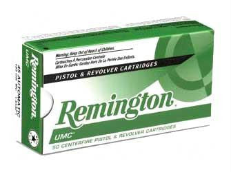 Remington UMC 10mm 180 Grain Full Metal Jacket