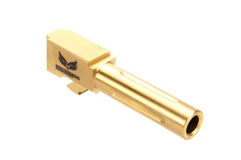 S3F Solutions Fluted Barrel For Glock 19 in TiN