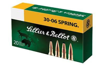S&b 30-06 150 Grain Weight Spce 20-400-Ammunition-Ardie Arms