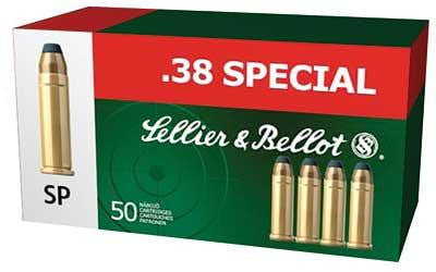 Sellier & Bellot 38 Special 158 Grain Soft Point