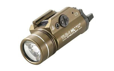 Streamlight FDE Brown TLR-1 High Lumen Weapon Mounted Light-Flashlights & Batteries-Ardie Arms