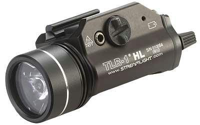 Streamlight TLR-1 HL 800 Lumens w/ Strobe Weapon Mounted Light in Black