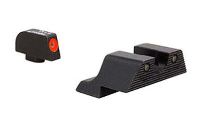 Trijicon HD XR Night Sights For Glock 9mm/40S&W Orange Front