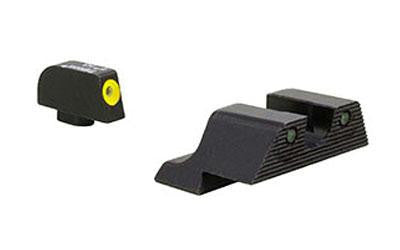 Trijicon HD XR Night Sights For Glock 9mm/40S&W Yellow Front