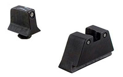 Trijicon Suppressor Night Sights For Glock 9mm Black Front/Rear