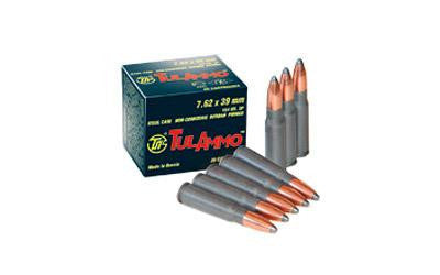 TulAmmo 7.62x39 124 Grain Full Metal Jacket