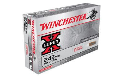 Win Sprx 243win 80 Grain Weight Jsp 20-200-Ammunition-Ardie Arms