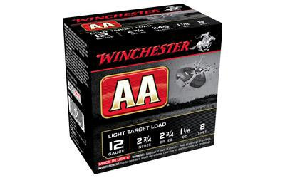 "Winchester AA Target 12 Gauge 2-3/4"" #8 Shot-Ammunition-Ardie Arms"