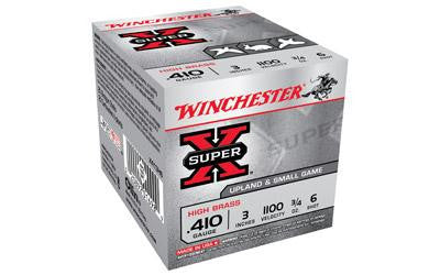 "Winchester Super-X 410 Gauge 3"" #6 Shot"