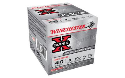 "Winchester Super-X 410 Gauge 3"" #7.5 Shot"
