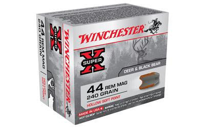 Winchester Super-X 44 Magnum 240 Grain Hollow Soft Point