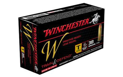 Winchester W Train 38 Special 130 Grain Full Metal Jacket