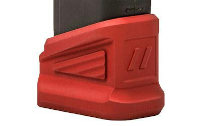 Zev Technologies Extended Base Pad +5 For Glock Red