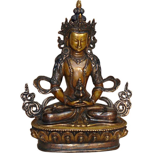 Bronze Sculpture of Amitayus Buddha