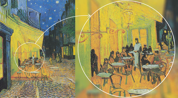 Hidden Images In Van Gogh Paintings