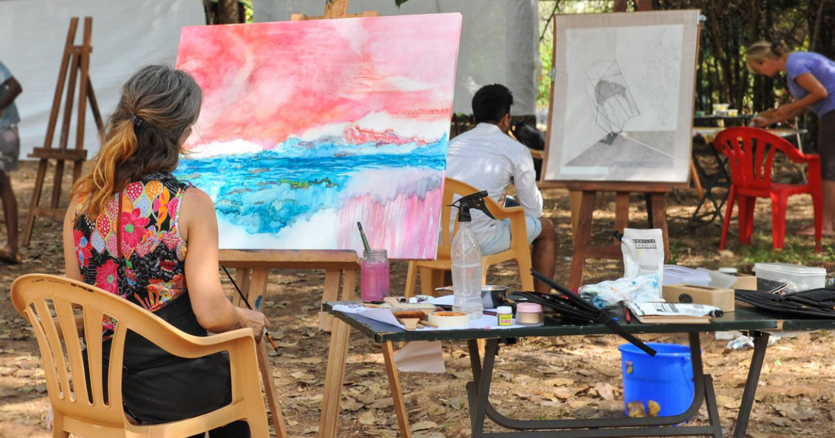 The 2019 Auroville Art Camp – Welcoming Peace and Harmony Through Art