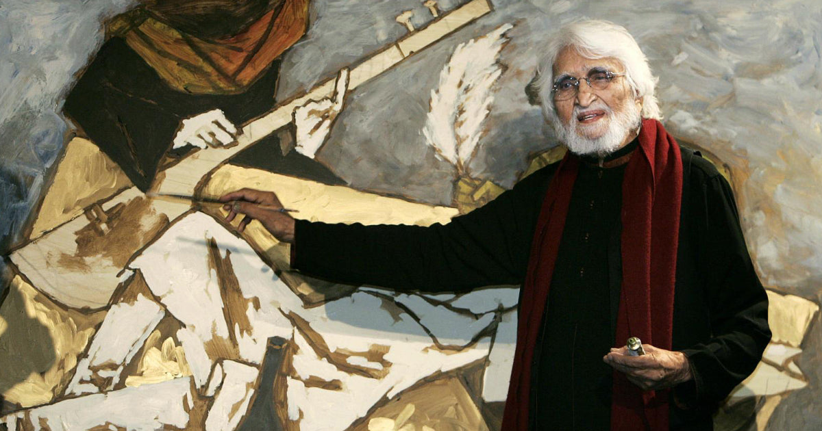 Remembering M.F. Husain: An Undisputed Master of Indian Modern Art