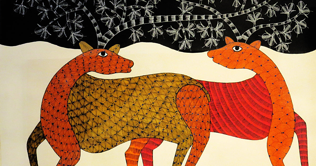 14 Important Gond Artists Who Are Promoting the Tribal Art Form
